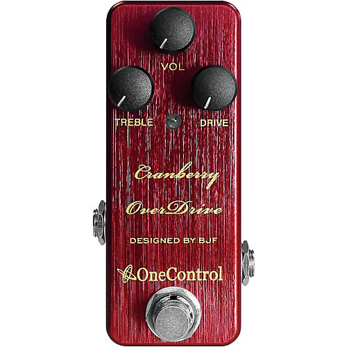 One Control Cranberry Overdrive Effects Pedal