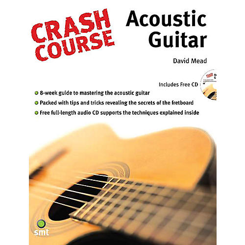 Music Sales Crash Course - Acoustic Guitar Music Sales America Series Softcover with CD Written by David Mead