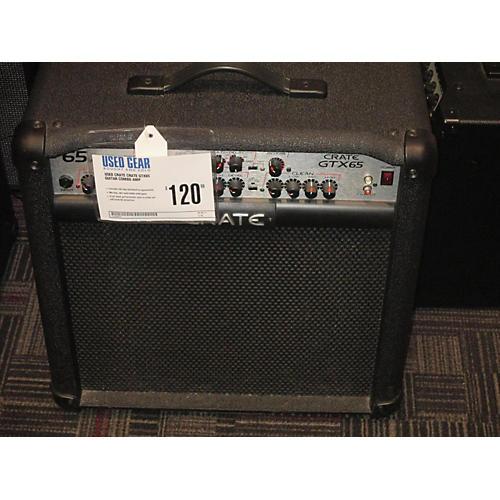 used crate crate gtx65 guitar combo amp guitar center. Black Bedroom Furniture Sets. Home Design Ideas