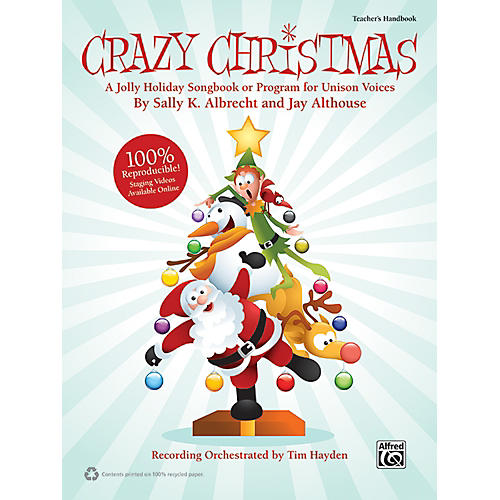 Alfred Crazy Christmas (Book/CD)