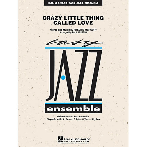 Hal Leonard Crazy Little Thing Called Love Jazz Band Level 2 Arranged by Paul Murtha