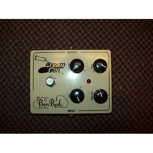 In Store Used Cream Can Effect Pedal