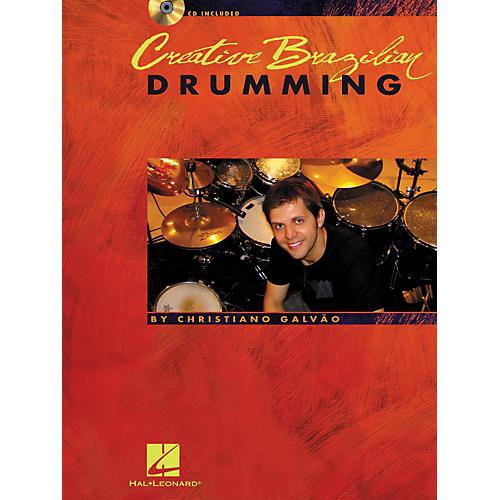 Hal Leonard Creative Brazilian Drumming - Book/CD