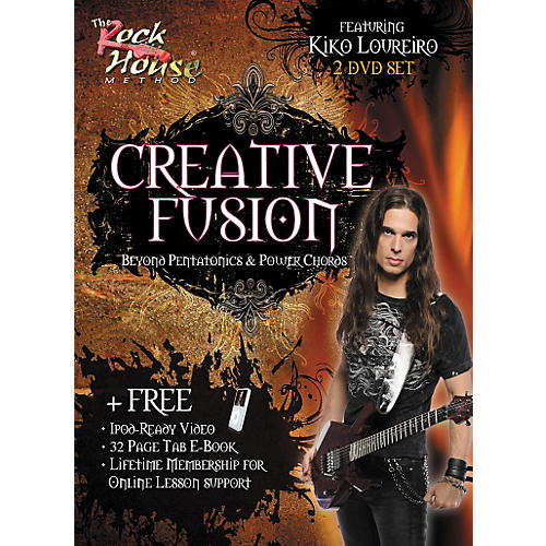 Rock House Creative Fusion Beyond Pentatonics & Power Chords (2-DVD Set)