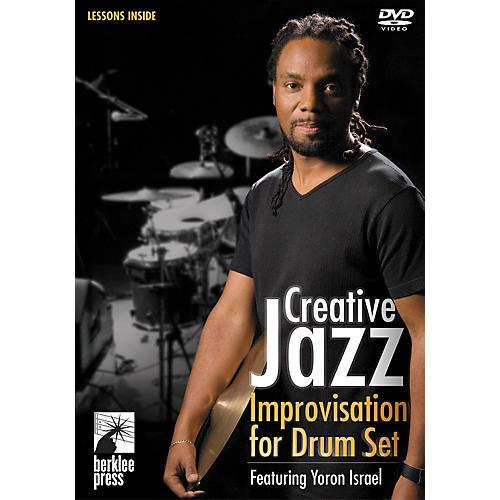 Berklee Press Creative Jazz Improvisation for Drum Set DVD with Yoron Israel