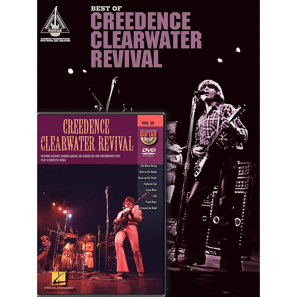 Hal Leonard Creedence Clearwater Revival Guitar Pack