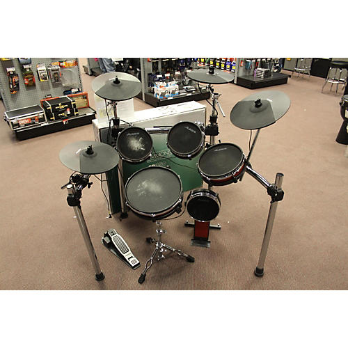 used alesis crimson 5 piece electric drum set guitar center. Black Bedroom Furniture Sets. Home Design Ideas