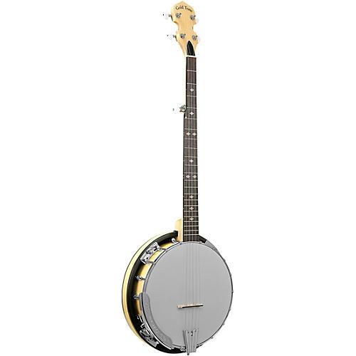 Gold Tone Cripple Creek Left-Handed Resonator Banjo with Wide Fingerboard