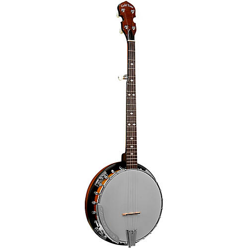 Gold Tone Cripple Creek Left-Handed Upgraded Resonator Banjo
