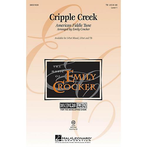 Hal Leonard Cripple Creek VoiceTrax CD Arranged by Emily Crocker
