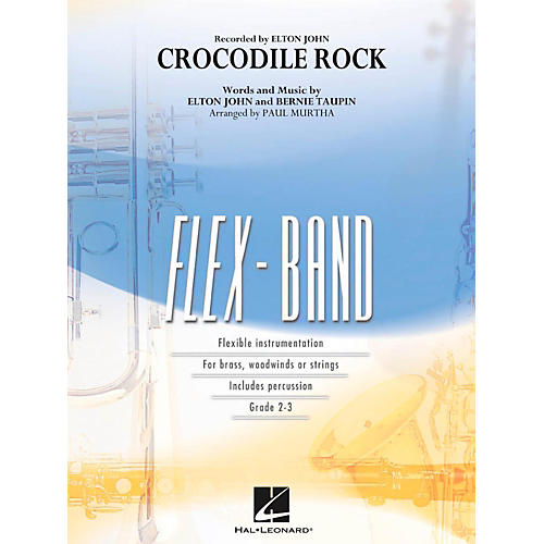 Hal Leonard Crocodile Rock - FlexBand Level 2-3