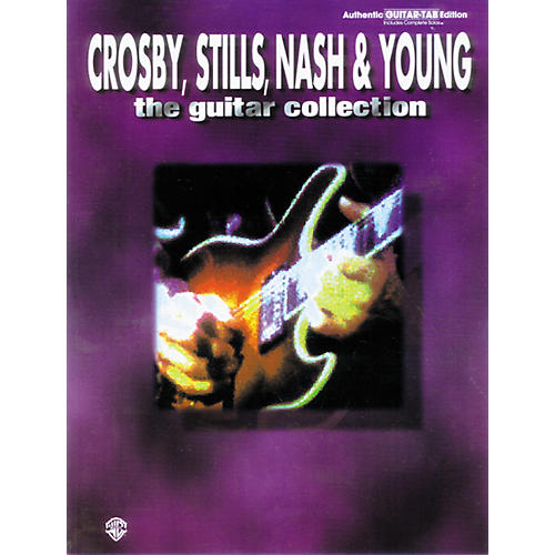Alfred Crosby, Stills, Nash and Young Guitar Anthology