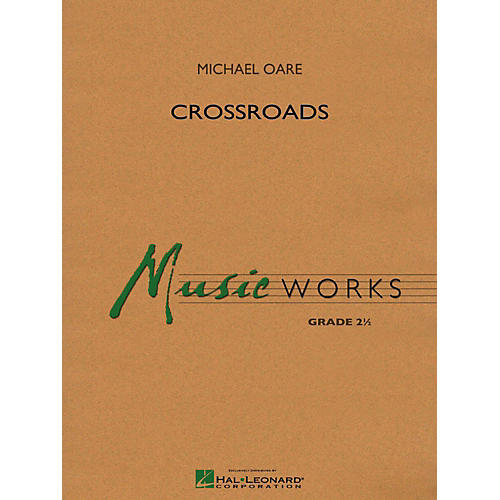 Hal Leonard Crossroads Concert Band Level 2