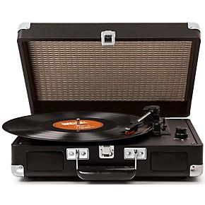 open box crosley cruiser record player black guitar center. Black Bedroom Furniture Sets. Home Design Ideas