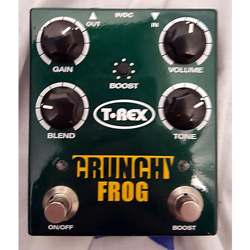 T-Rex Engineering Crunchy Frog Effect Pedal Package