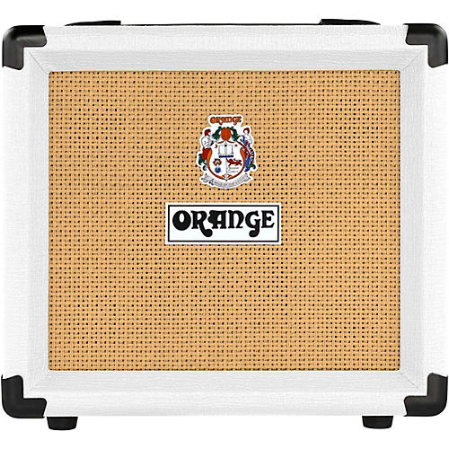 orange amplifiers crush 12 12w 1x6 guitar combo amp white guitar center. Black Bedroom Furniture Sets. Home Design Ideas