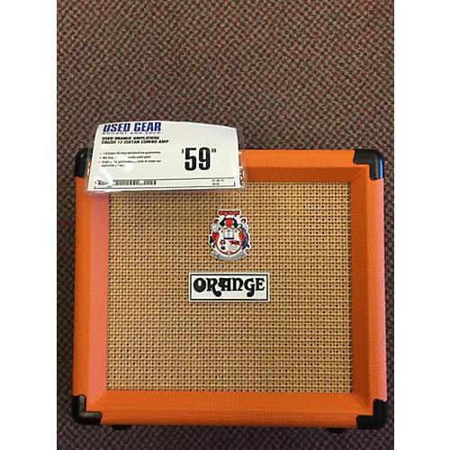 Orange Amplifiers Crush 12 Guitar Combo Amp
