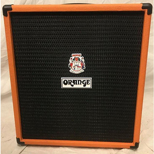 used orange amplifiers crush bass 50w bass combo amp guitar center. Black Bedroom Furniture Sets. Home Design Ideas