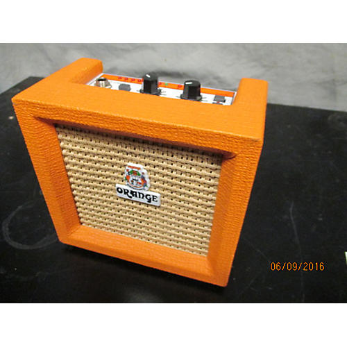 Orange Amplifiers Crush Micro Battery Powered Amp