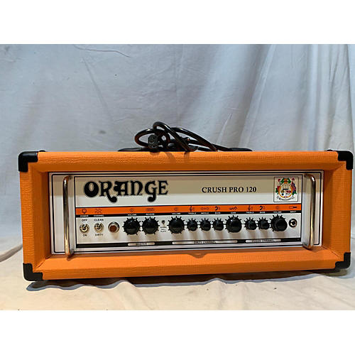 Orange Amplifiers Crush Pro 120 Solid State Guitar Amp Head