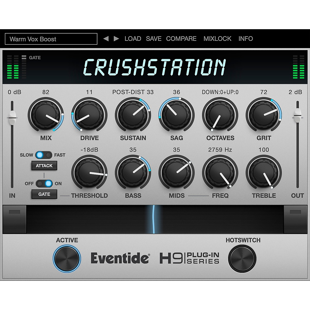 Eventide CrushStation Native Plug-in (Software Download)