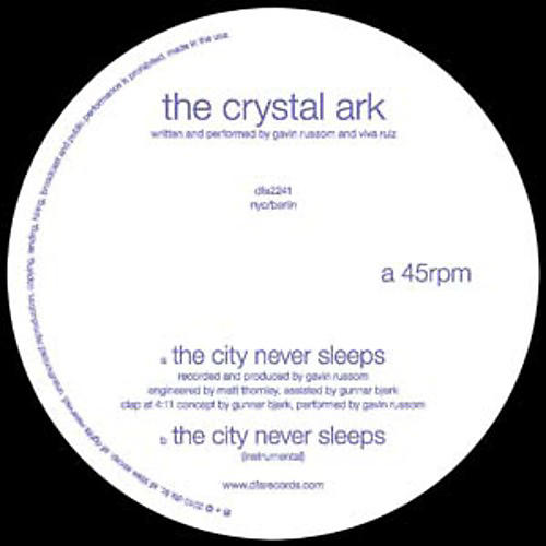 Alliance Crystal Ark - The City Never Sleeps