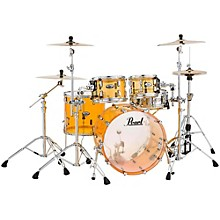 Crystal Beat 4-Piece New Fusion Shell Pack Tangerine Glass