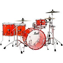 Crystal Beat 4-Piece Rock Shell Pack Ruby Red