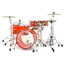 Crystal Beat 5-Piece Shell Pack Ruby Red
