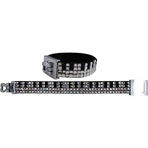 AIM Crystal Keyboard Bracelet (4-Row)