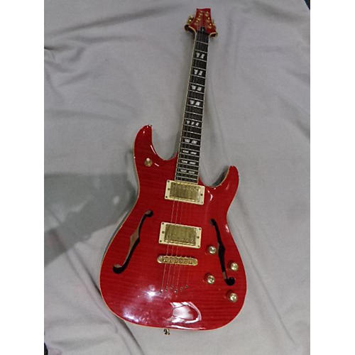 used schecter guitar research csh1 hollow body electric guitar red guitar center. Black Bedroom Furniture Sets. Home Design Ideas