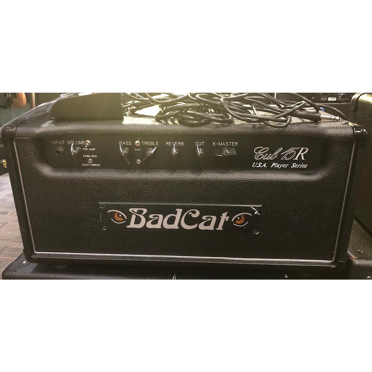 Bad Cat Cub 15R Guitar Amp Head Tube Guitar Combo Amp