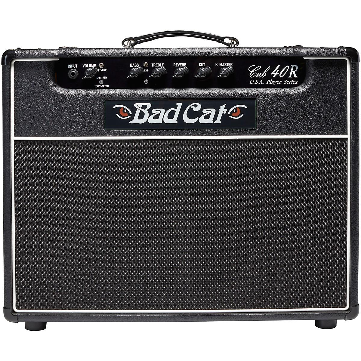 Bad Cat Cub 40R USA Player Series 40W 1x12 Tube Guitar Combo Amp
