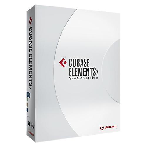 Steinberg Cubase Elements 7 DAW Software Educational Edition