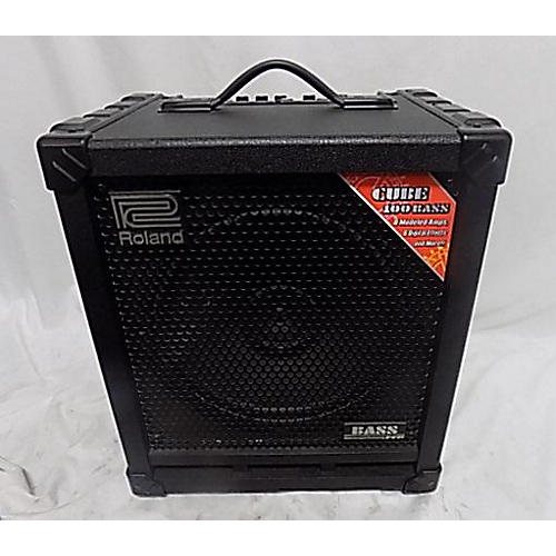 used roland cube 100 bass amp bass amp head guitar center. Black Bedroom Furniture Sets. Home Design Ideas