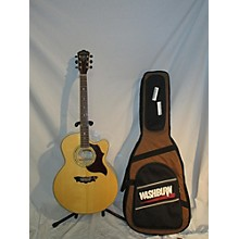 Washburn Cumberland J28s Dl Acoustic Electric Guitar