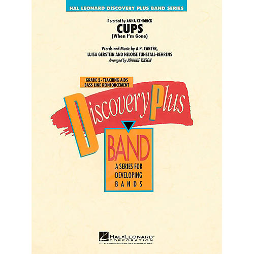 Hal Leonard Cups (When I'm Gone)  - Discovery Plus Concert Band Level 2