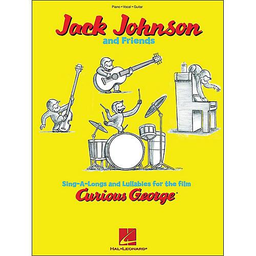 Hal Leonard Curious George - Jack Johnson & Friends arranged for piano, vocal, and guitar (P/V/G)