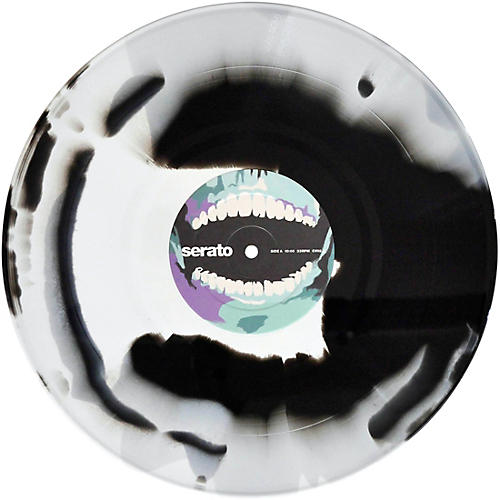 SERATO Cursed #1 Screams from the Grave Halloween NoiseMap Timecode Control Vinyl Pair