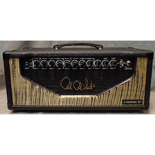 used prs custom 2 channel 50 watt tube guitar amp head guitar center. Black Bedroom Furniture Sets. Home Design Ideas