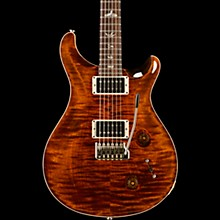 Custom 22 Carved Figured Maple Top with Gen 3 Tremolo Bridge Solid Body Electric Guitar Orange Tiger
