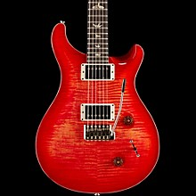 PRS Custom 22 Carved Flame Maple Top with Nickel Hardware Solid Body Electric Guitar Blood Orange