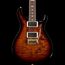 Custom 24 10-Top Electric Guitar Black Gold Burst