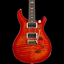 Custom 24 10-Top Electric Guitar Blood Orange