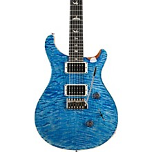 Custom 24 10-Top with Pattern Thin Neck and Ebony Fretboard Electric Guitar Faded Blue Jean