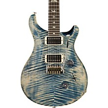 Custom 24 Carved Figured Maple Top with Gen 3 Tremolo Solid Body Electric Guitar Faded Whale Blue