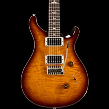 PRS Custom 24 Carved Figured Maple Top with Gen 3 Tremolo Solid Body Electric Guitar Mccarty Tobacco Sunburst
