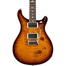 Custom 24 Carved Figured Maple Top with Gen 3 Tremolo Solid Body Electric Guitar Mccarty Tobacco Sunburst