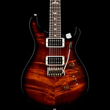 Custom 24 with Carved Top Electric Guitar Black Gold Burst