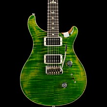Custom 24 with Carved Top Electric Guitar Emerald Green